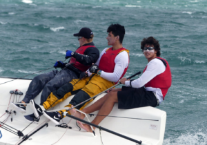 Takahashi and his winning Crew