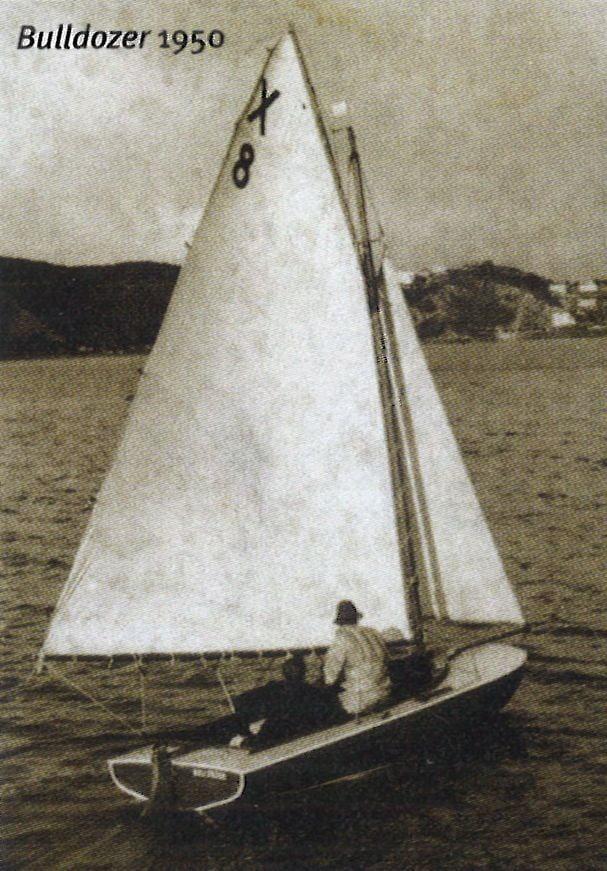 Bulldozer under sail.